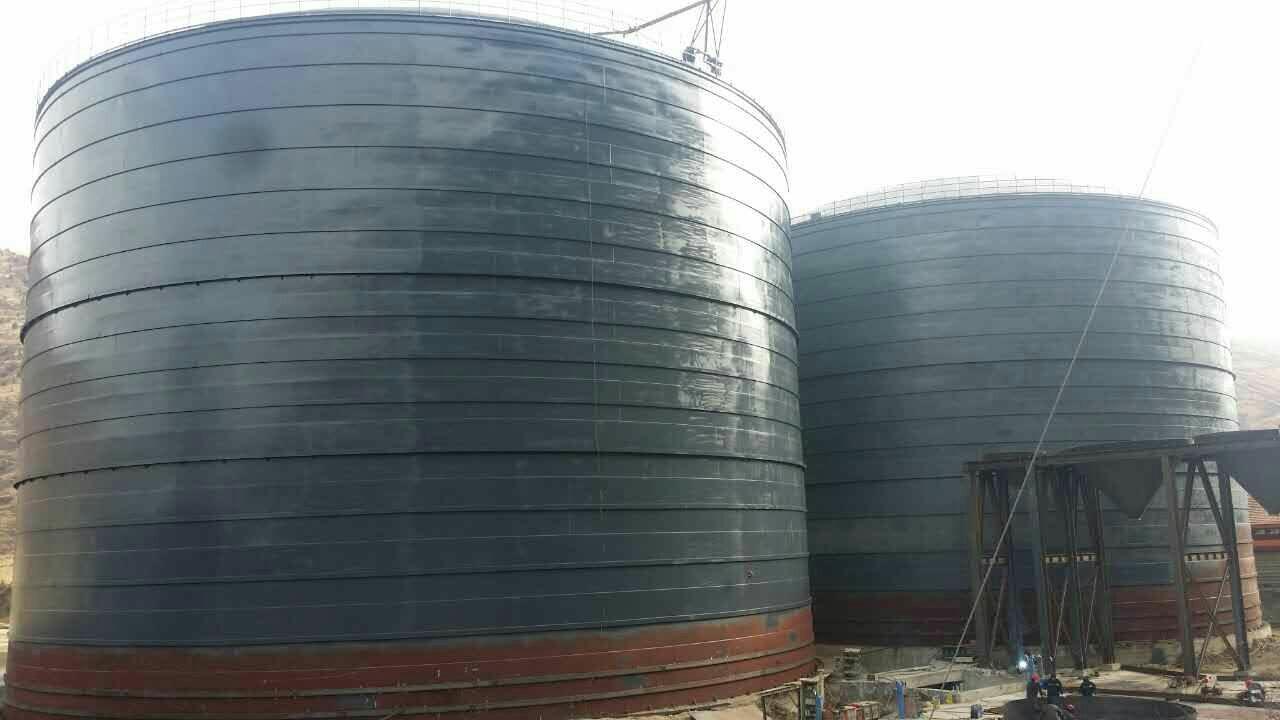大型矿粉储存罐     矿粉储存仓