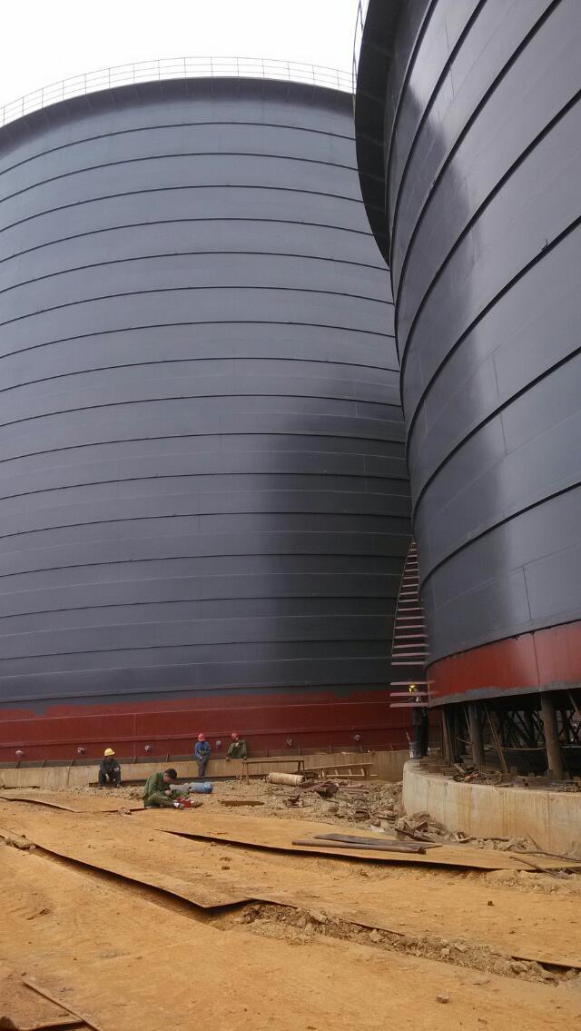 骨料钢板库加工厂  设计  制作