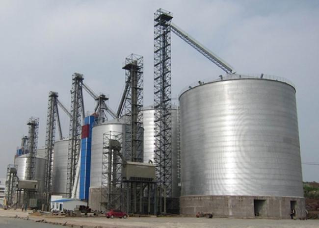 大型粮食钢板仓