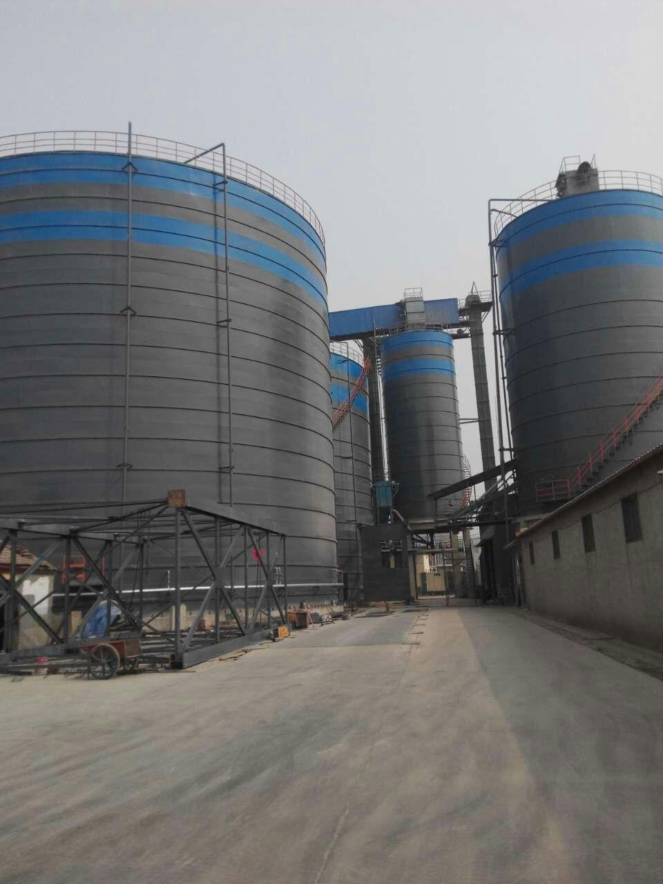 3万吨粉灰库    5万吨灰库厂家
