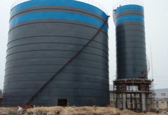 安徽大型钢板仓厂家   2万吨灰库厂家