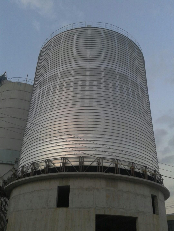 水泥螺旋钢板仓
