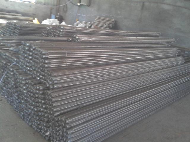 山东正阳钢板仓直径40 50 流化棒生产车间