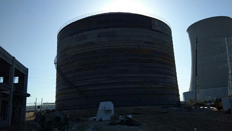 山东5万吨钢板库造价