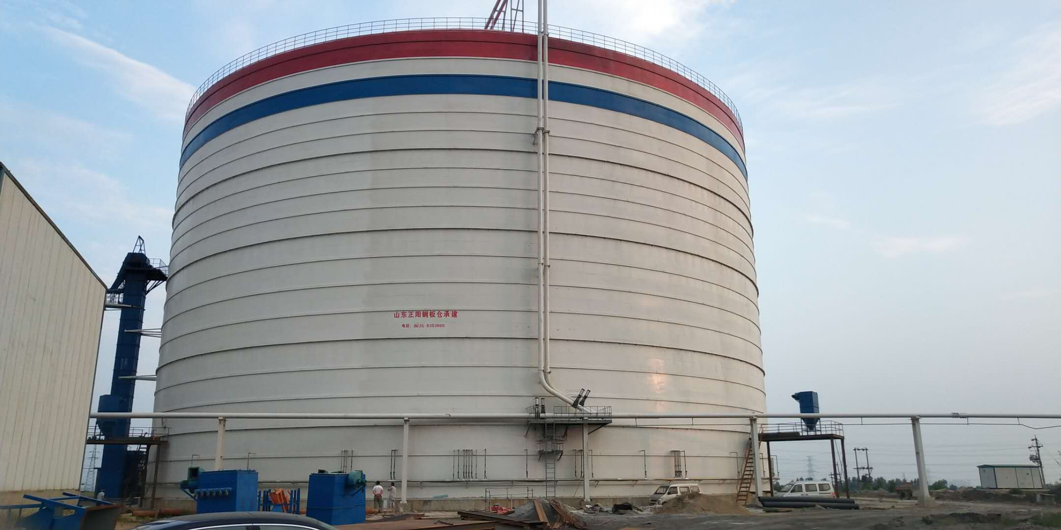 10万吨粉煤灰储存库