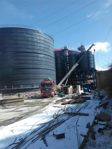 直径38米吨粉煤灰储存罐