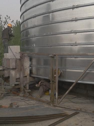 3000吨螺旋仓施工厂家  卷板仓厂家
