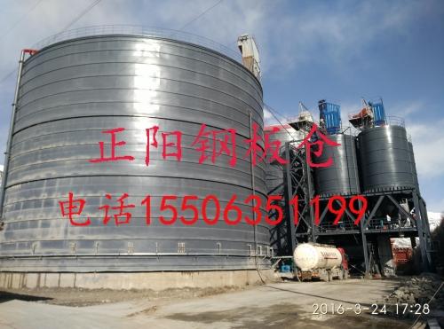 3万吨粉煤灰储存罐案例