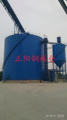 矿粉大型钢板库