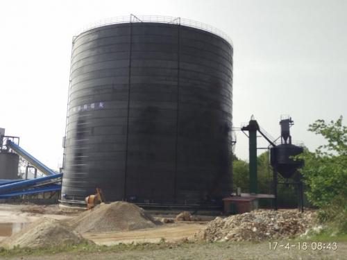 大型粉煤灰储存罐