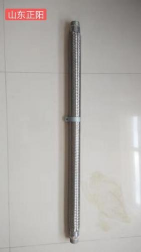 流化棒安装效果图   气化管安装效果图