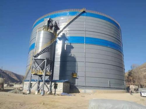 山东青海10万吨钢板仓厂家 5万吨灰库厂家