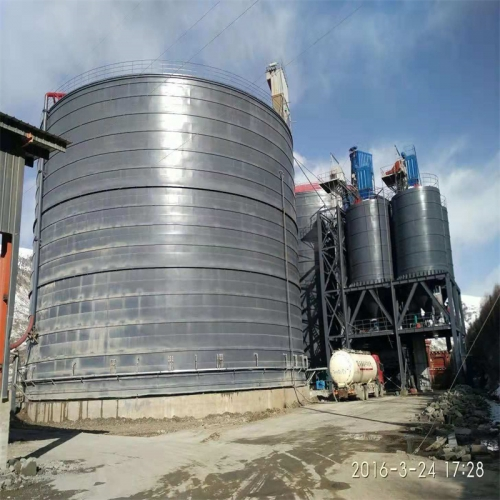 3万吨粉煤灰钢板仓
