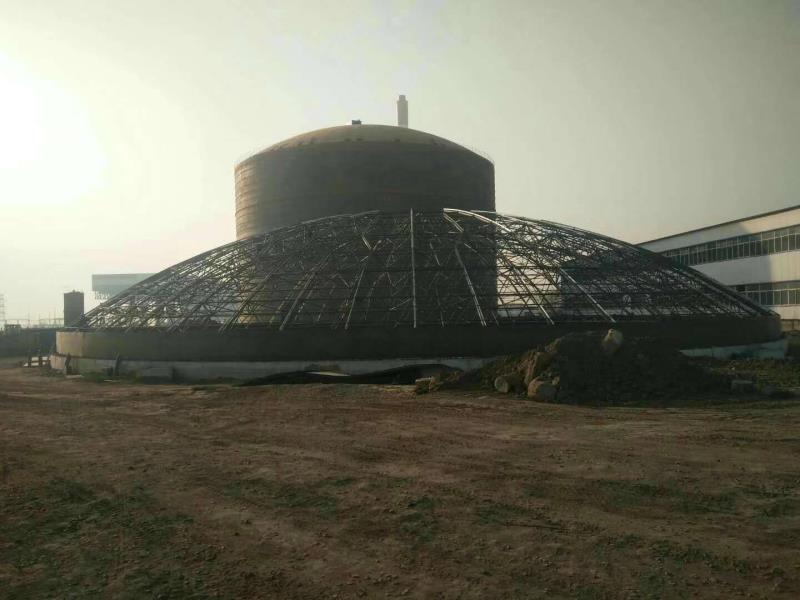 甘肃5万吨粉煤灰钢板仓
