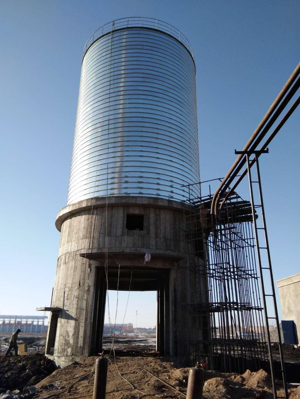 黑龙江1500吨粉煤灰钢板仓