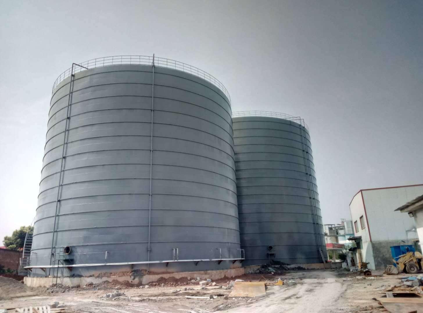 重庆3万吨粉煤灰钢板仓