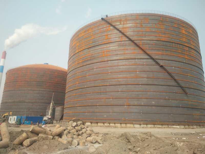 甘肃平陵6万吨粉煤灰库