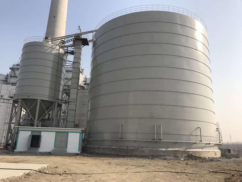 2万吨粉煤灰钢板仓